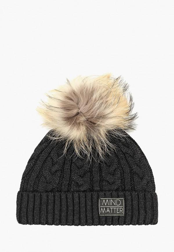 Giamo | черный Зимняя черная шапка Giamo для мальчиков | Clouty