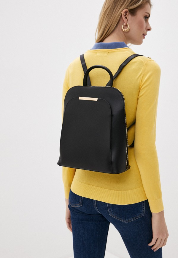 Giulia Monti | Женский черный рюкзак Giulia Monti | Clouty