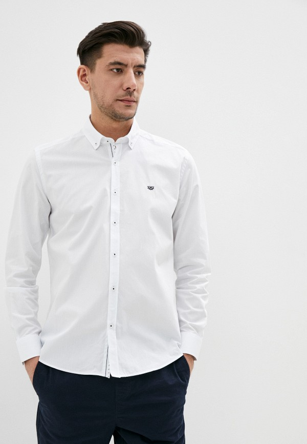 Giorgio Di Mare | белый Мужская белая рубашка Giorgio Di Mare | Clouty