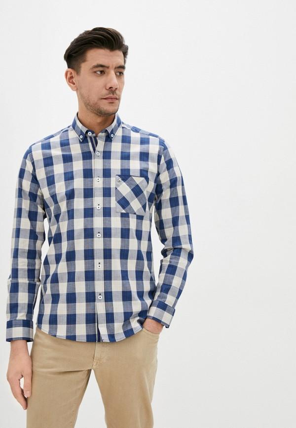 Giorgio Di Mare | синий Мужская синяя рубашка Giorgio Di Mare | Clouty