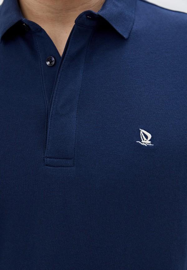 Giorgio Di Mare | синий Мужское синее поло Giorgio Di Mare | Clouty