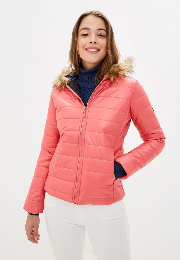 Giorgio Di Mare | розовый Женская розовая утепленная куртка Giorgio Di Mare | Clouty