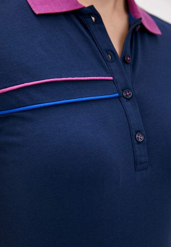 Giorgio Di Mare | синий Женское синее поло Giorgio Di Mare | Clouty