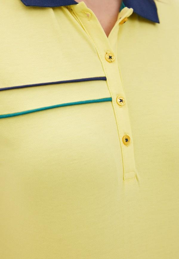 Giorgio Di Mare | желтый Женское желтое поло Giorgio Di Mare | Clouty