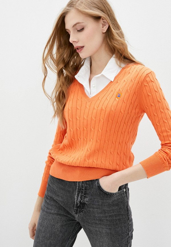 Giorgio Di Mare | оранжевый Пуловер Giorgio Di Mare | Clouty
