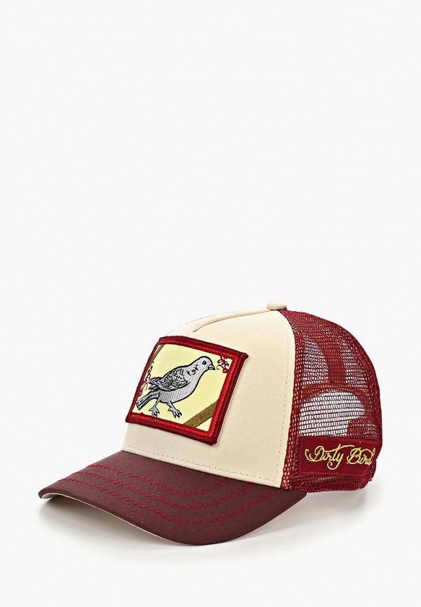 Goorin Bros. | бордовый Мужская бордовая бейсболка Goorin Bros. | Clouty
