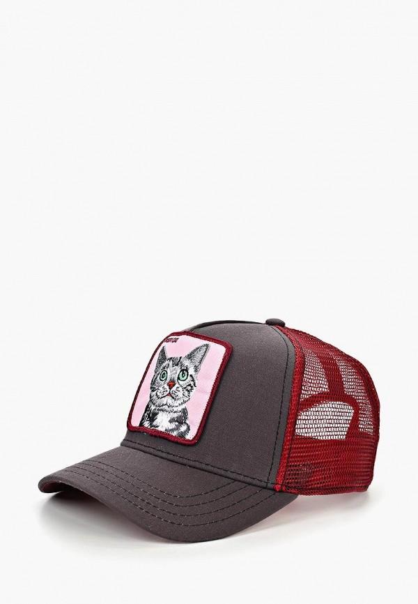 Goorin Bros.   бордовый, серый Бейсболка Goorin Bros.   Clouty
