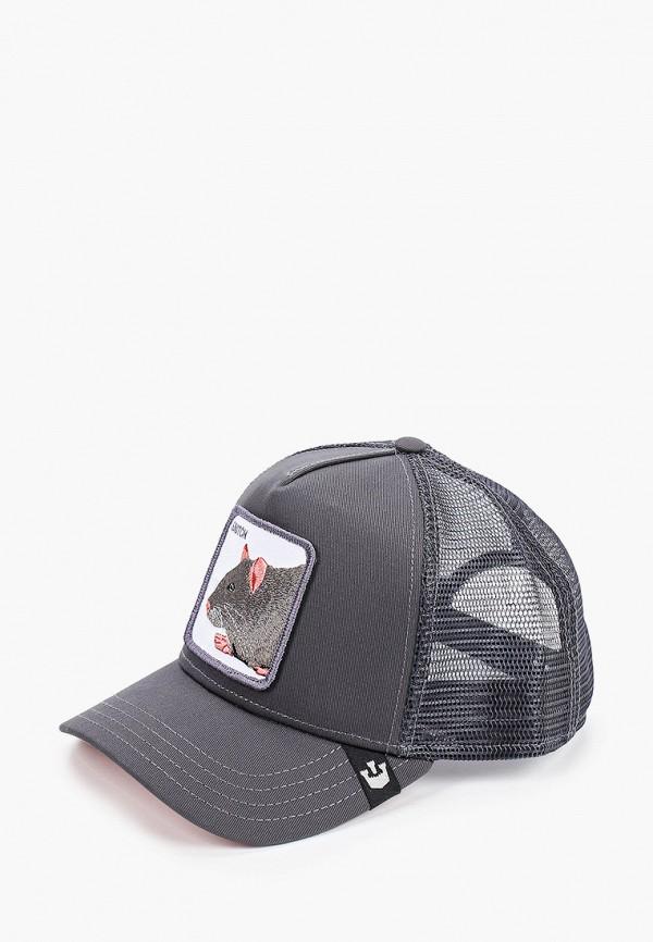 Goorin Bros. | серый Серая бейсболка Goorin Bros. | Clouty