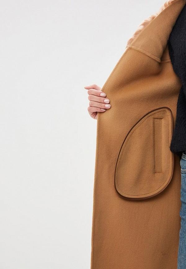 Grand Style | бежевый Женское бежевое пальто Grand Style | Clouty