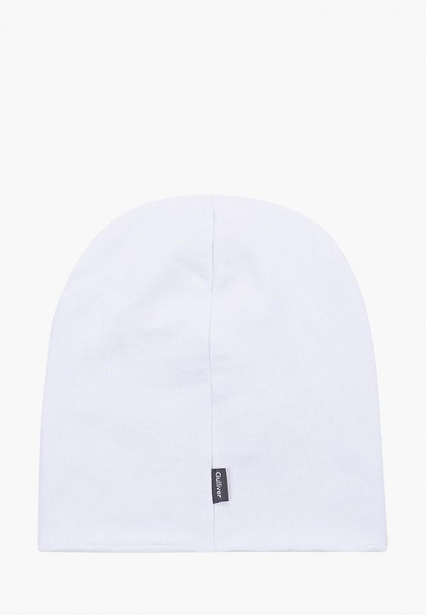 Gulliver | белый Белая шапка Gulliver для девочек | Clouty