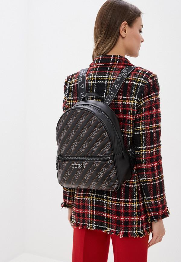 Guess | Женский черный рюкзак Guess | Clouty