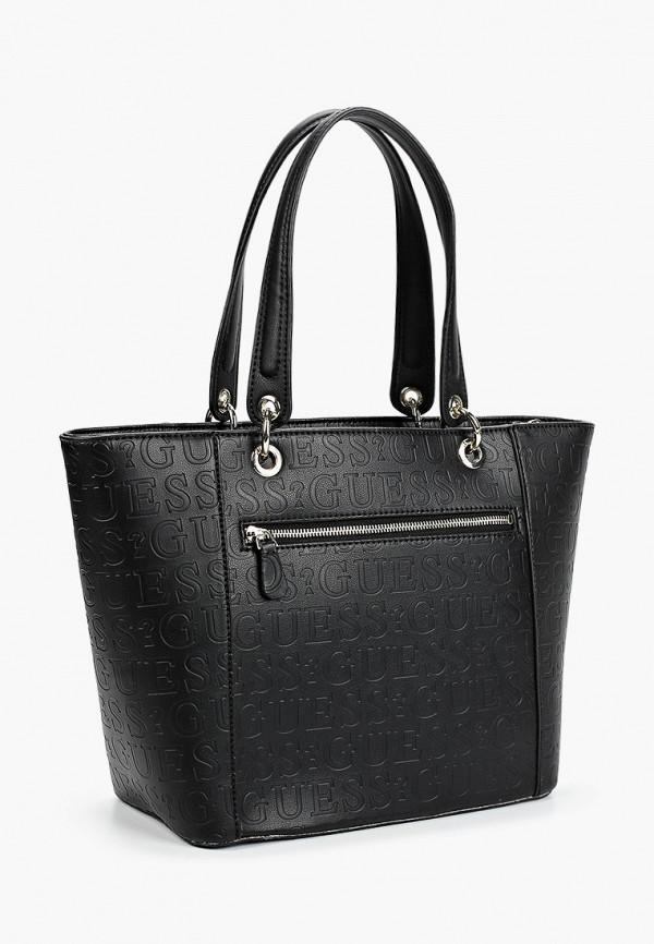 Guess | черный Женская черная сумка Guess | Clouty