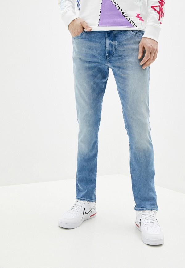 Guess Jeans | голубой Мужские голубые джинсы Guess Jeans | Clouty