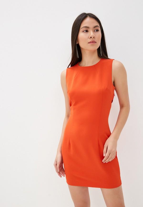 Guess Jeans | оранжевый Платье Guess Jeans | Clouty