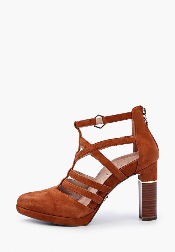 Heart & Sole by Tamaris | коричневый Женские коричневые туфли Heart & Sole by Tamaris искусственный материал | Clouty