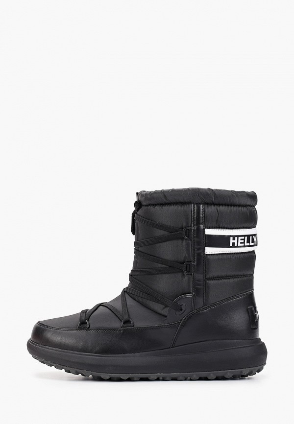 Helly Hansen | черный Мужские зимние черные дутики Helly Hansen резина | Clouty
