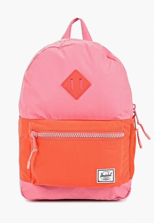 Herschel Supply Co | Розовый рюкзак Herschel Supply Co для девочек | Clouty