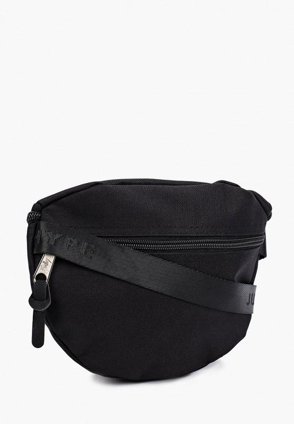 Hype   черный Черная поясная сумка Hype   Clouty