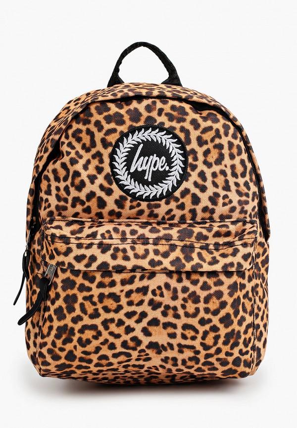 Hype | Женский коричневый рюкзак Hype | Clouty