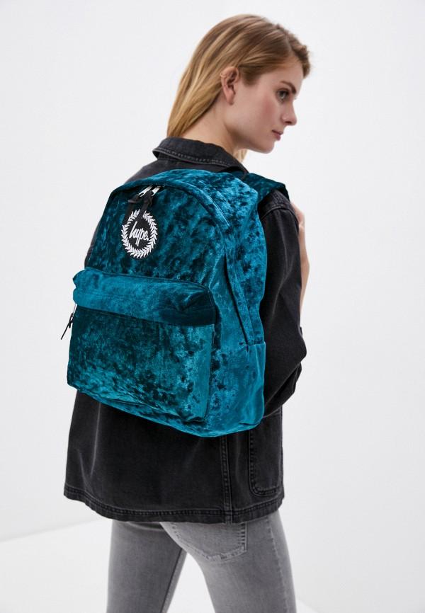 Hype | Женский бирюзовый рюкзак Hype | Clouty