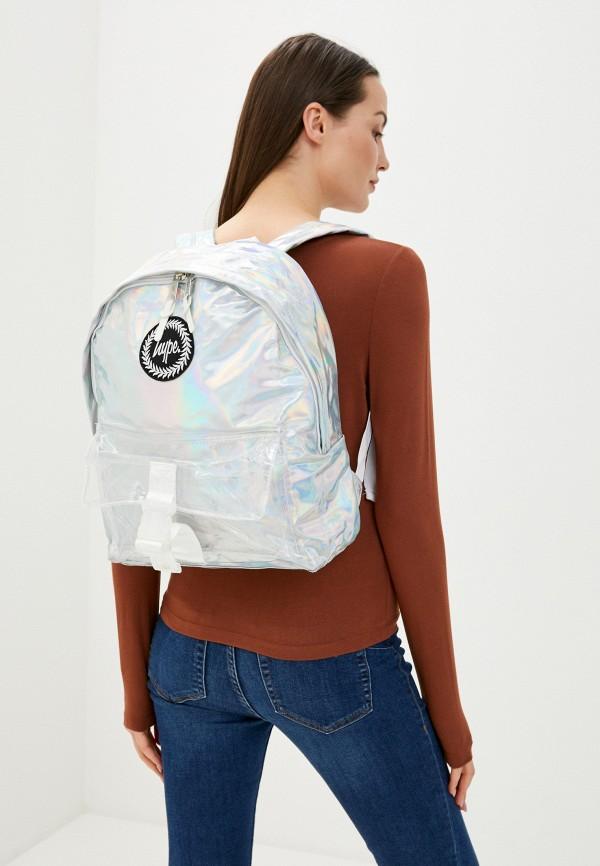 Hype   Женский серебряный рюкзак Hype   Clouty