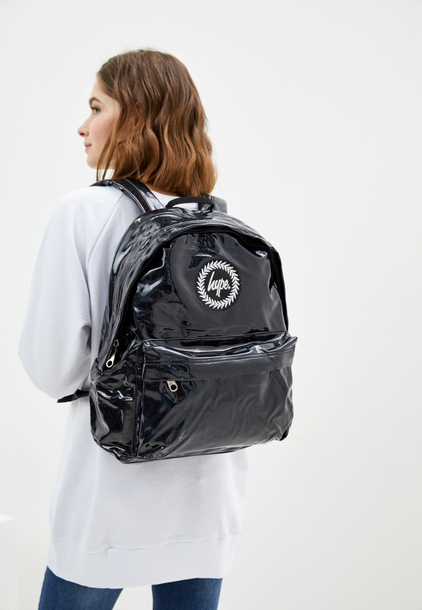 Hype   Женский черный рюкзак Hype   Clouty