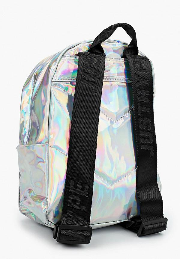 Hype | Женский серебряный рюкзак Hype | Clouty