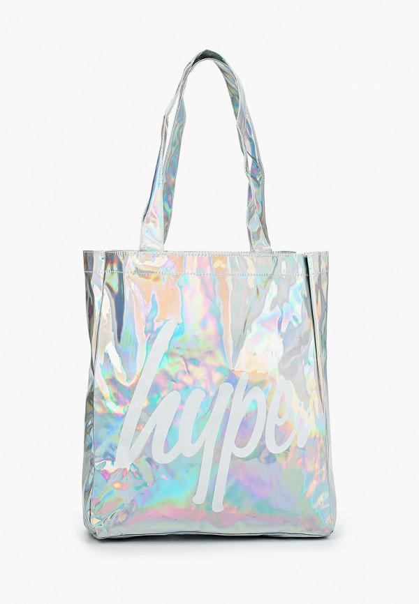 Hype | серебряный Женская серебряная сумка Hype | Clouty