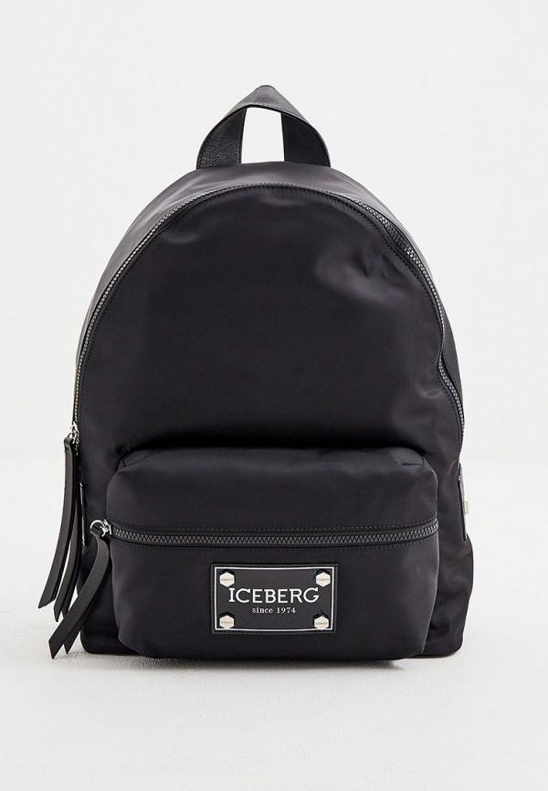 Iceberg   Мужской черный рюкзак Iceberg   Clouty