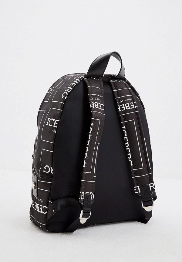 Iceberg | Мужской черный рюкзак Iceberg | Clouty
