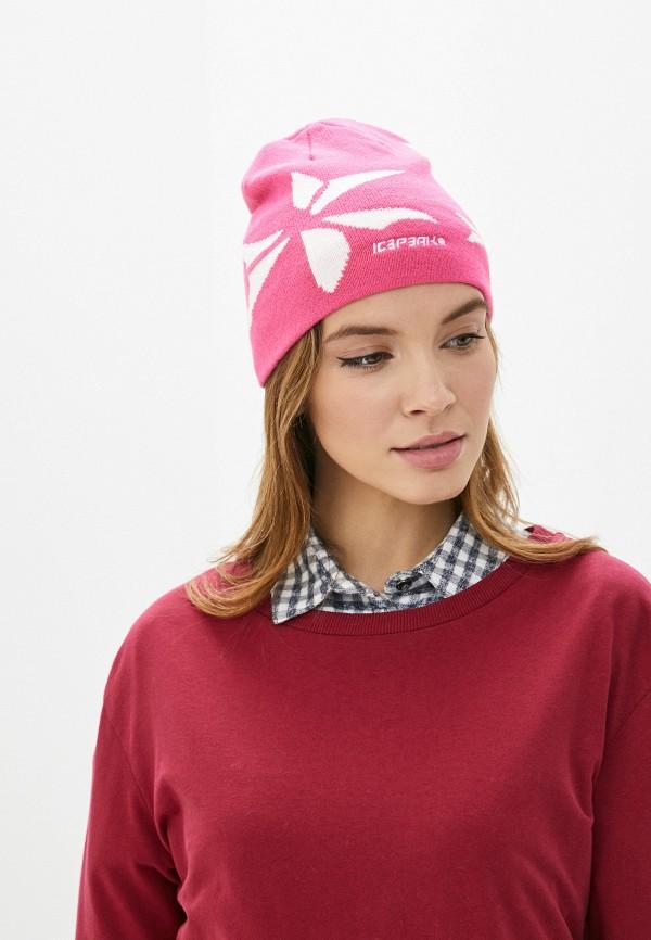 Icepeak | розовый Женская розовая шапка Icepeak | Clouty