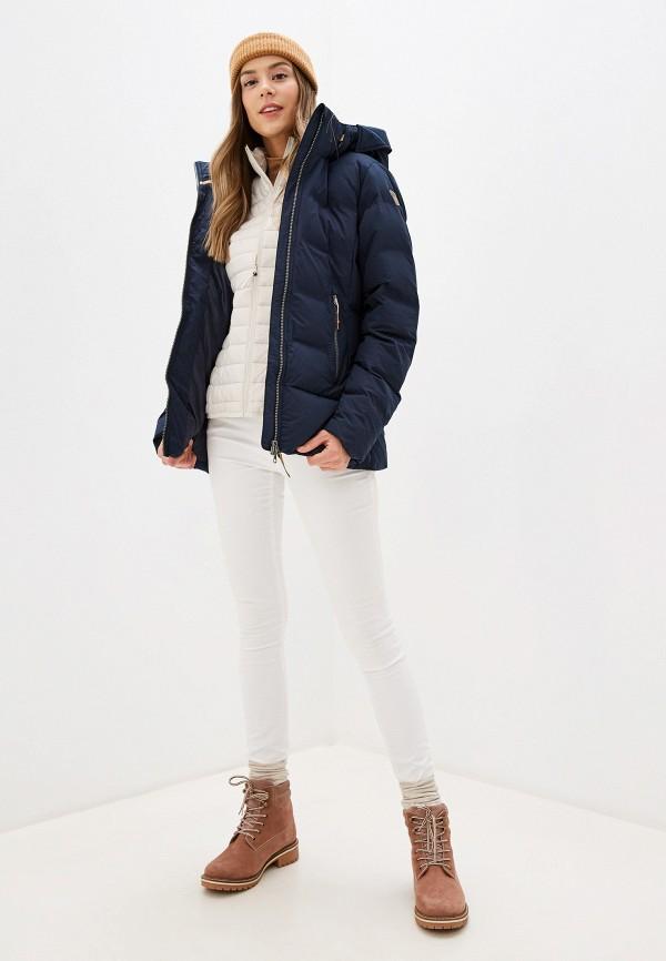 Icepeak | синий Женская зимняя синяя утепленная куртка Icepeak | Clouty