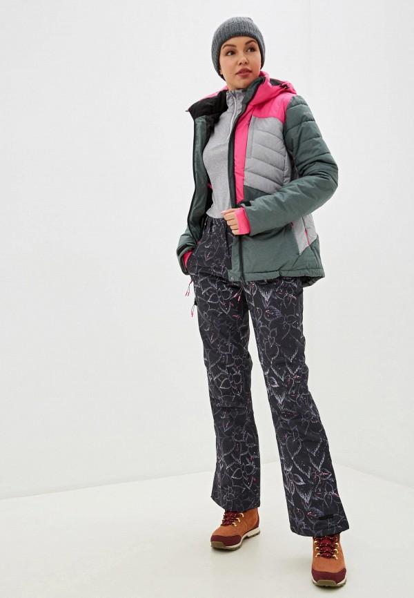 Icepeak | серый Женские зимние серые горнолыжные брюки Icepeak | Clouty