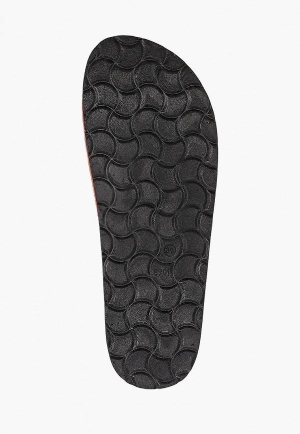 Ideal Shoes | оранжевый Женские летние оранжевые сабо Ideal Shoes пробка | Clouty