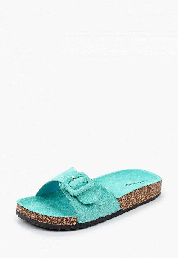 Ideal Shoes   бирюзовый Сабо Ideal Shoes   Clouty