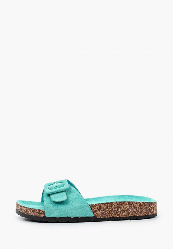 Ideal Shoes | бирюзовый Сабо Ideal Shoes | Clouty