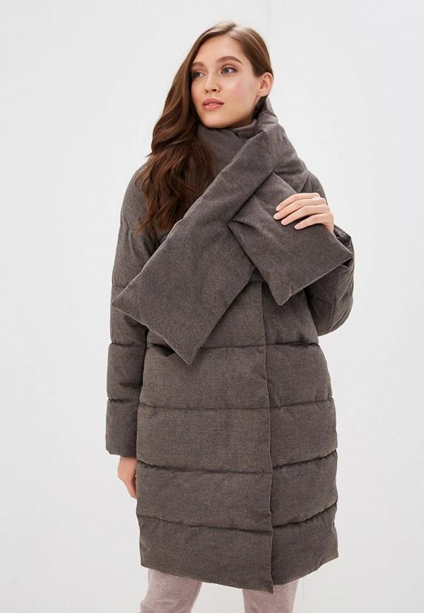 Imocean | серый Женская серая утепленная куртка Imocean | Clouty