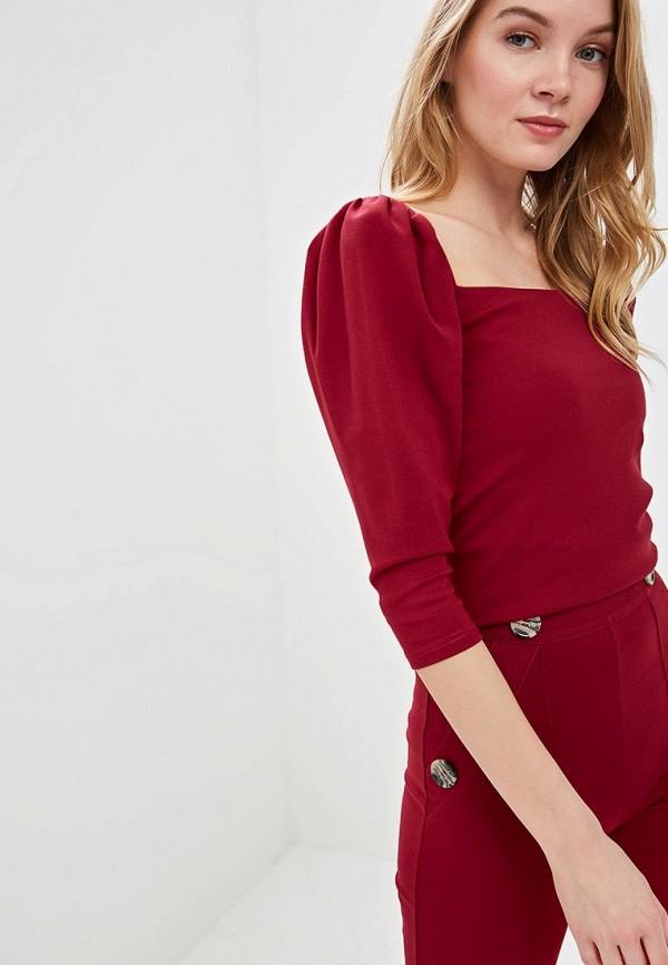 Imocean   бордовый Женская бордовая блуза Imocean   Clouty