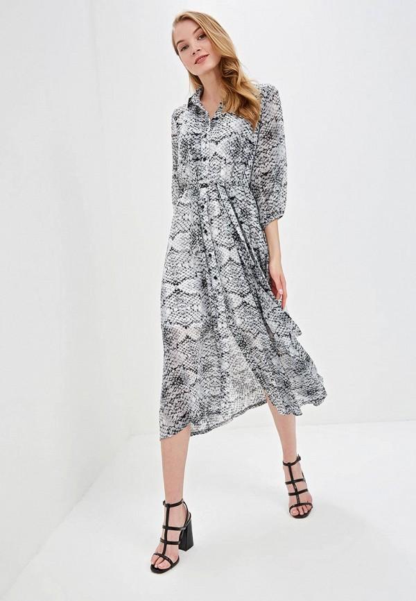 Imocean | серый Женское летнее серое платье Imocean | Clouty