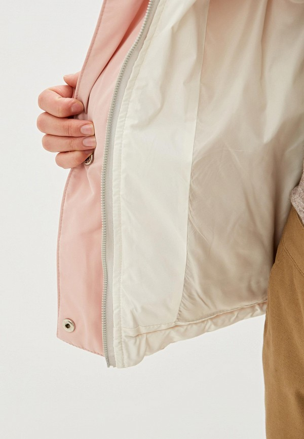 Imocean   розовый Женская зимняя розовая утепленная куртка Imocean   Clouty