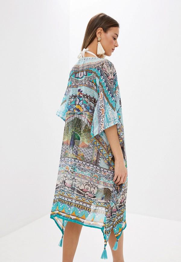 Indiano | мультиколор Летнее пляжное платье Indiano | Clouty