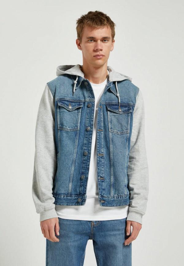 Pull & Bear | синий Куртка джинсовая Pull&Bear | Clouty