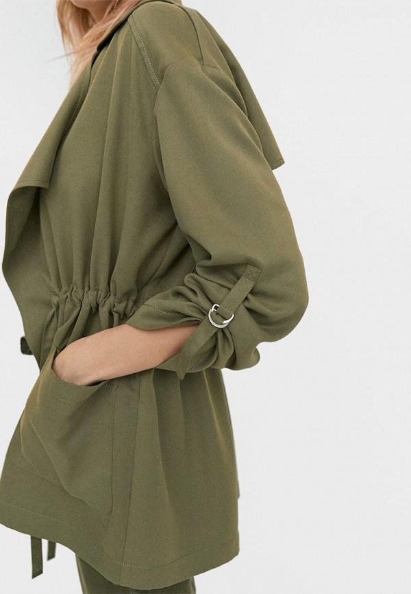 Stradivarius | зеленый Женская зеленая куртка Stradivarius | Clouty