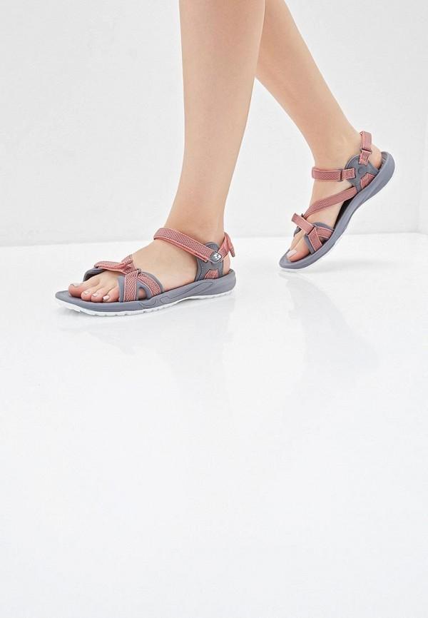 Jack Wolfskin | розовый Женские летние розовые сандалии Jack Wolfskin искусственный материал | Clouty
