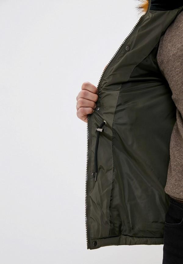 Jackets Industry   хаки Мужская зимняя утепленная куртка Jackets Industry   Clouty