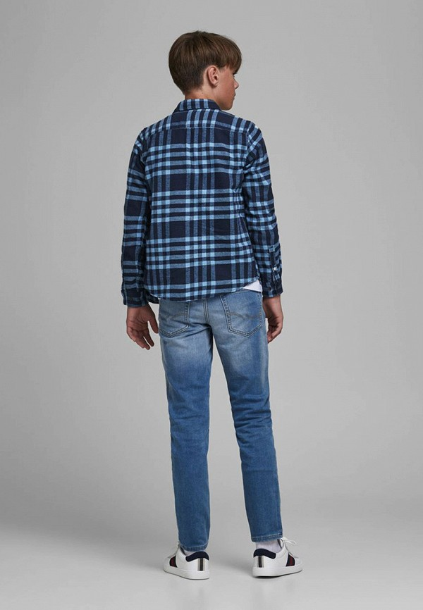 Jack & Jones | синий Рубашка Jack & Jones | Clouty