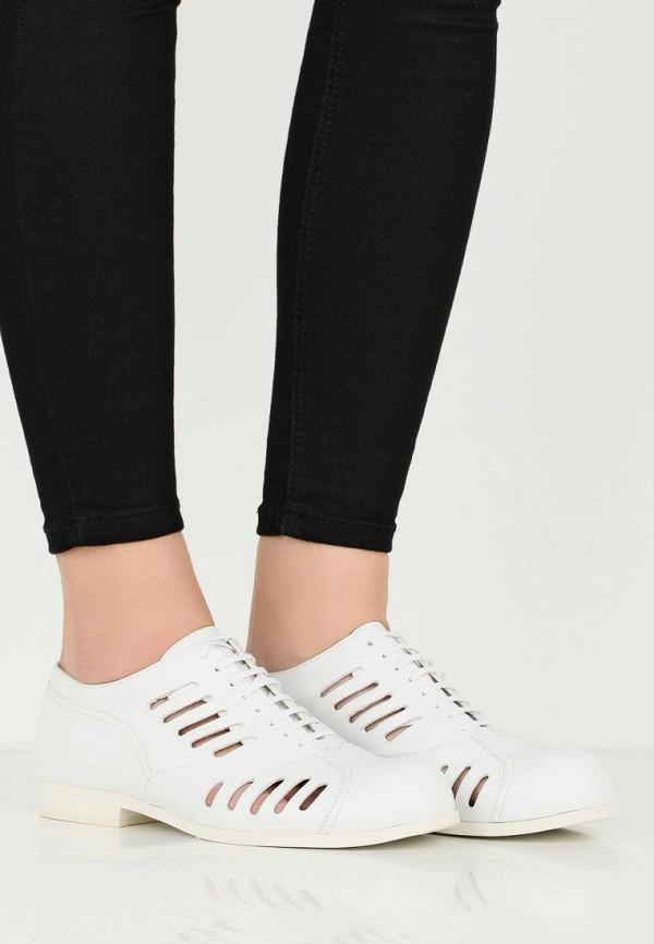 Jil Sander Navy | белый Женские летние белые ботинки Jil Sander Navy резина | Clouty