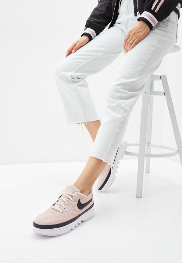 Jordan | розовый Женские розовые кроссовки Jordan резина | Clouty
