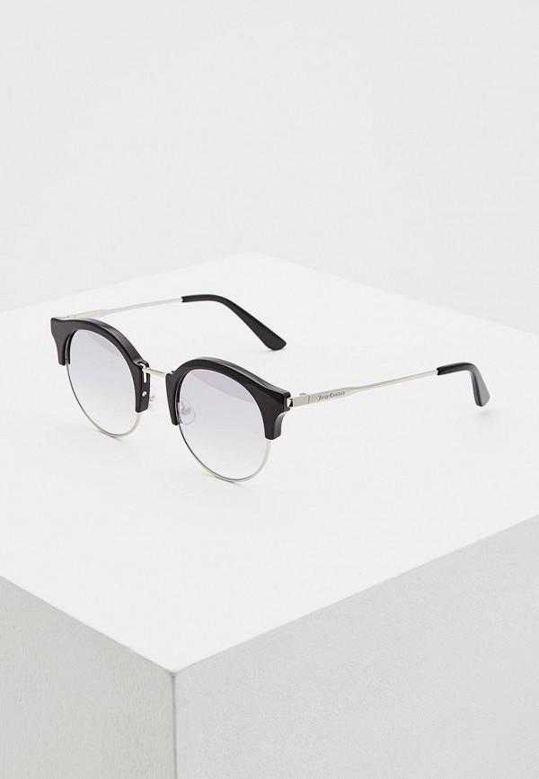 Juicy Couture | черный Женские летние черные солнцезащитные очки Juicy Couture | Clouty