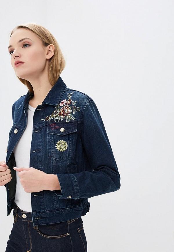 Juicy Couture | синий Женская синяя джинсовая куртка Juicy Couture | Clouty